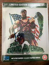 TOXIC AVENGER ~ 1984 Troma Cult Horror Movie | 88 Films UK Blu-ray Steelbook