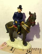 Grandeur Noel Victorian Village Mounted Police Officer 1999