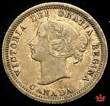 1870 Canada 5 cents - EF - Lot#1519P
