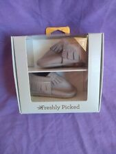 Freshly Picked Original Baby Moccasin Size 1 Euc. With Box