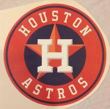 "12"" x 12"" Circle MLB LOGO HOUSTON ASTROS  Fathead / poster Wall Graphics Vinyl"