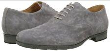 Geox Respira U721XB Besmington Mens Suede Lace-up Shoes Anthracite uk 9 eu 43