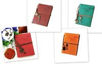 Classic Leather Key Blank Diary Notebook Vintage String Journal Sketchbook New