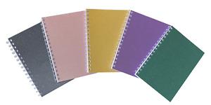 Various Colour Five-Pack A5 Sparkle Premium Notepads 70 Sheets 80gsm