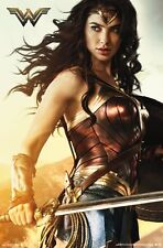 WONDER WOMAN MOVIE - SHIELD POSTER 22x34 - DC COMICS JUSTICE LEAGUE 15161
