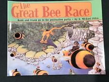 The Great Bee Race Children's Book by artist D. Michael Price Signed 1st Edition