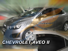 CHEVROLET AVEO Saloon 4-doors 2011-2015 4-pc wind deflectors HEKO Tinted