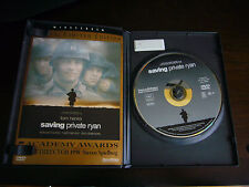 Saving Private Ryan (Dvd, 1999, Special Limited Edition) original case & booklet