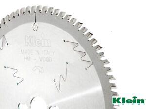 Broco Sega Circolare Lama per sega circolare in legno 210mm 80 Diametro foro 30mm Lama per sega circolare 30mm con 3 O-ring