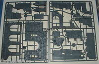 OSGILIATH RUINS - LORD OF THE RINGS / HOBBIT GAMES WORKSHOP PLASTIC SCENERY KIT