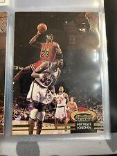 Topped Stadium Club 92-93 Michael Jordan #1 Basket Ball Card