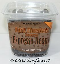 Trader Joe's Dark Chocolate Covered Espresso Beans 14 oz. Free Shipping To US 48