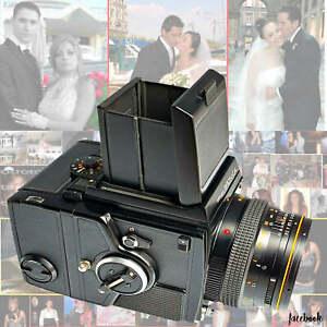 ZENZA BRONICA 6X6 SQA MEDIO FORMATO MACCHINA FOTOGRAFICA analogica rullino