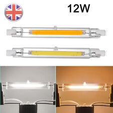 Bombillas LED regulable 118mm R7s COB Seguridad Bombilla halógena de inundación sustituye Luz 12W