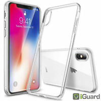 Schutzhülle für APPLE iPhone XS 5.8 Hülle KLAR Transparent TPU Case Tasche NEU