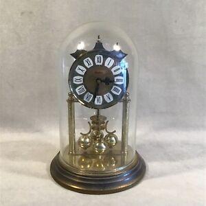 "PV06175 Vintage Haller Germany Quartz Movement 9"" Anniversary Clock with Dome"
