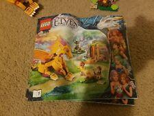 Lego 41175- Lego Elves Fire Dragon's Lava Cave