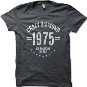 Crazy Diamond David Gilmour inspired Pink Floyd cotton t-shirt 9029