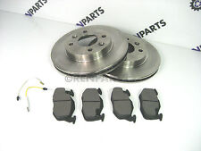 Renault Clio II PH2 2001-2006 Front Brake Vented Discs & Pads NEW 1.2 1.4 1.5