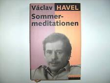 VACLAV HAVEL SOMMERMEDITATIONEN ROWOHLT