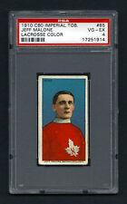 PSA 4 1910 C60 LaCROSSE CARD #85 JEFF MALONE