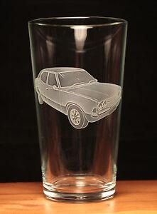 Ford Cortina MKIII MK3 Classic engraved pint glass gift present