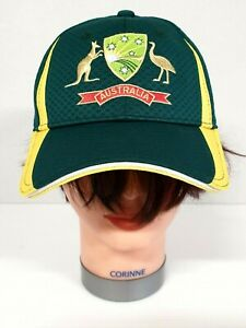 Asics Cricket Australia Cap Size OSF A - As New