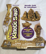 Nib Ages 3+ Spin Master Kinectic Sand Metallic Gold 1 Lb