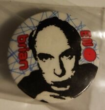 "2 Talking Heads 1"" Pinback Buttons! (Brian Eno band"