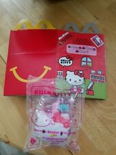 McDonald's Happy Meal Toy 2018 #7 Scented Sticker Dispenser Hello Kitty Bn W/Box