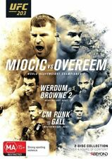 UFC #203 - Miocic Vs Overeem (DVD, 2017, 2-Disc Set) Region 4