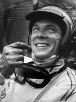 OLD LARGE PHOTO of Motor Racing Legend Dan Gurney, Formula 1, Le Mans etc No 105