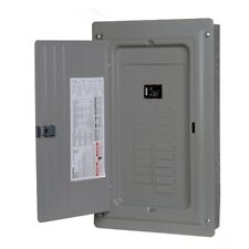Siemens 100-Amp Indoor Main Breaker Electrical Panel Box - 20-Circuit 20-Space