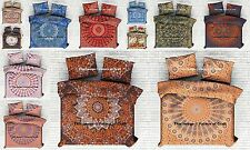 5 Pc Wholesale Lot Indian Handmade Duvet Cover Cotton Doona Cover Quilt Cover