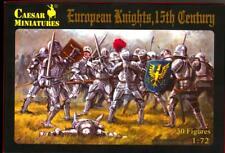 Caesar Miniatures 1/72 EUROPEAN MEDIEVAL KNIGHTS 15th Century Figure Set