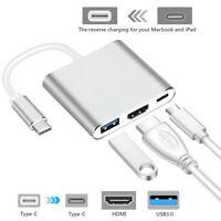 HI Type C USB 3 USB-USB HDMI 4K 3.0 Cavo adattatore Hub 3 in 1 per IOS PAD MAC