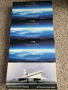 Hogan 1:200 British Airways Concorde (3)  & Les Avions Air France Concorde (1)