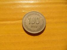 1973 South Korea 100 Won coin
