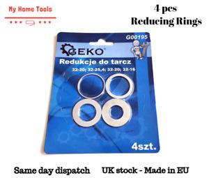 Circular saw blade reduction ring from 32mm - 4 pcs