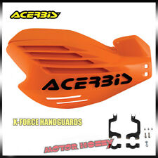 PARAMANI ACERBIS X FORCE X-FORCE CROSS ENDURO MOTARD ARANCIO + KIT MONTAGGIO