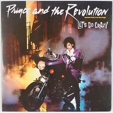 """PRINCE & THE REVOLUTION: Let's Go Crazy 12"""" WB Special Dance Mix NM- Wax"""