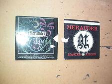 2 X MERAUDER CD ALBUMS PROMO . punk metal mosh nyhc beatdown thrash