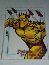 2008 Rittenhouse Archives - Fantastic Four Archives - SketchaFex - Adam...