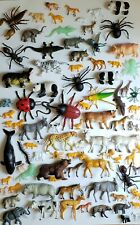 Lot Of 87 Toy Plastic Animal Figures