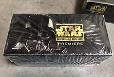 Star Wars CCG Premiere Limited Starter Box Sealed 12 Black Border Starter Decks