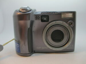 Olympus SP Series SP-320 7.1MP Digital Camera - Gray *GOOD/TESTED*