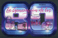 Spain 2018 MNH Eighties Generation of 80s 4v M/S Flags Historical Events Stamps