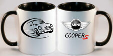 MINI COOPER CAR ART MUG GIFT CUP