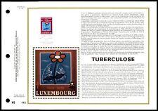 LUXEMBURG CEF 1978 TUBERKOLOSE TUBERCOLOSE BLUME FLOWER LTD. ONLY 500 !! zc16