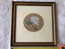 Art Original Watercolour - Water Lilies - Maria Valentine 1870-1885